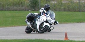 Kawasaki Edges BMW at Michigan State Police Motorcycle Test