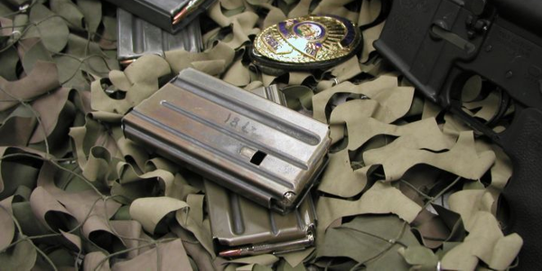 A 20-round (front) magazine can be preferable to 30-round magazines (rear) for a patrol carbine...
