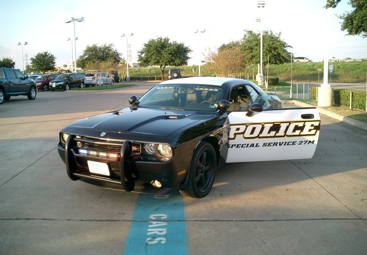 Texas Dealer Offers 400hp Dodge Challenger Patrol Car