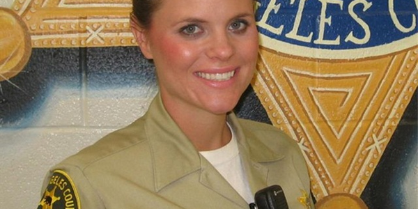 Photo of Dep. Jenna Underwood-Nunez courtesy of LASD