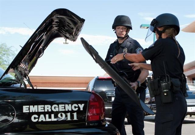 e465c91f We Need Ballistic Helmets on Patrol - Patrol - POLICE Magazine