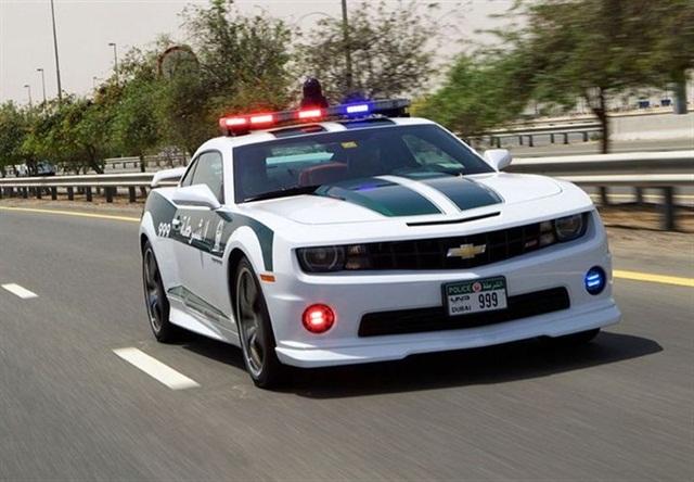 Chevrolet Camaro SS Joins Dubai Police Force