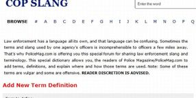 PoliceMag Launches Police Terms Dictionary