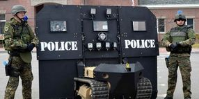 Maine Company Introduces Dual-Tracked SWAT Bot