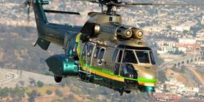 L.A. Sheriff's Super Puma Helicopters