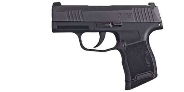 SIG's P365 is small but it packs a lot of firepower. This 9mm, striker-fired pistol features a...