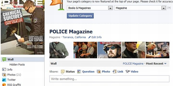 Facebook: An Officer's User Guide