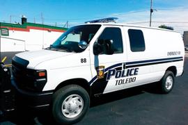 Using a Ford E-Series Van for Prisoner Transport