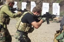Transitioning from Carbine To Handgun at Close Range