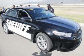 L.A. County Sheriff Completes Police Vehicle Tests