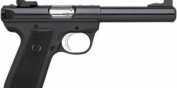 Ruger's 22/45 Bull Barrel Rimfire Pistol. Image via Ruger.