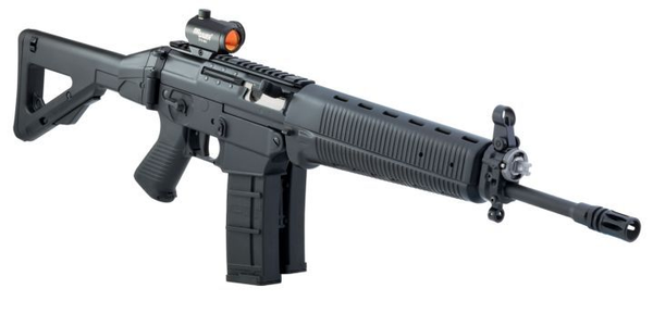 The SIG 556 Classic rifle will be available chambered in 762.x39mm for 2011. Image via SIG Sauer.