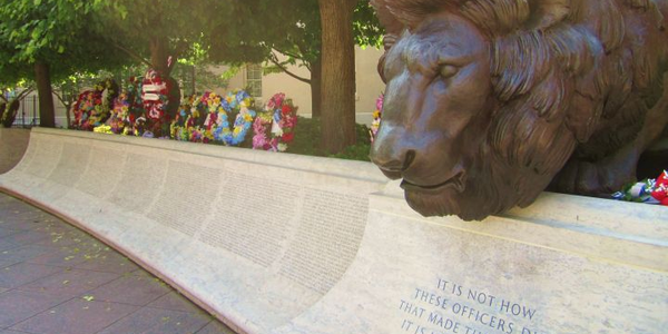 The National Law Enforcement Officers Memorial in D.C. Photo: Lori M. Connelly