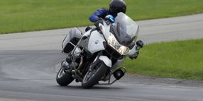 BMW Offers F800 GT-P Police Motorcycle
