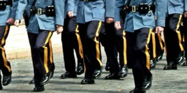 New Jersey State Police recruits at graduation. (Photo: New Jersey State Police)