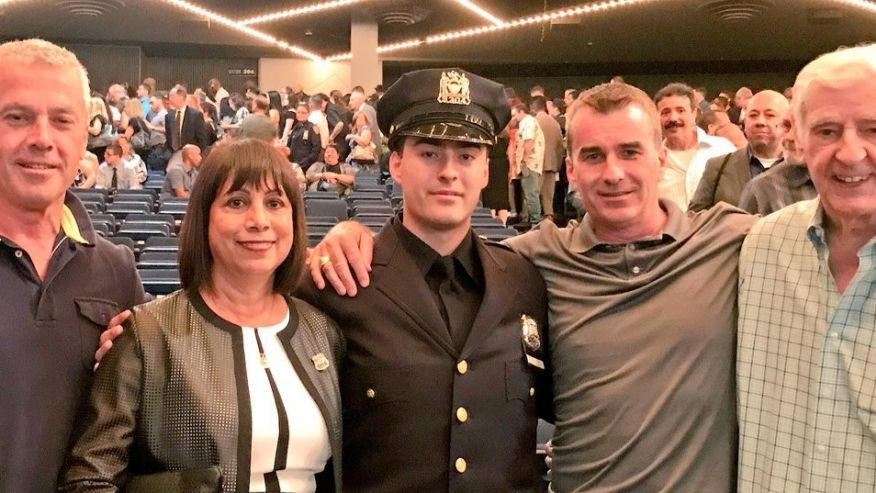 Newly Sworn-In NYPD Officer is Fourth Generation of Family to Wear Same Badge Number