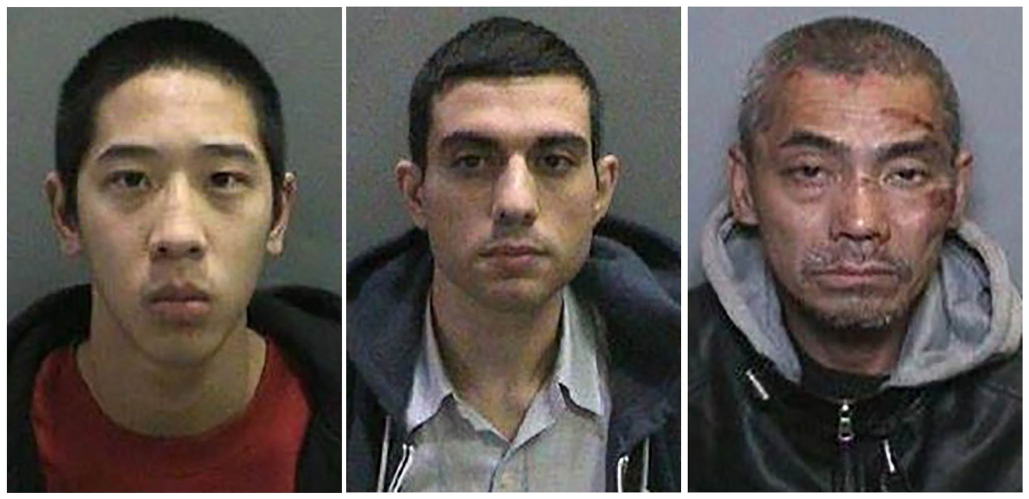 5 Associates of Escaped Inmates Arrested in California