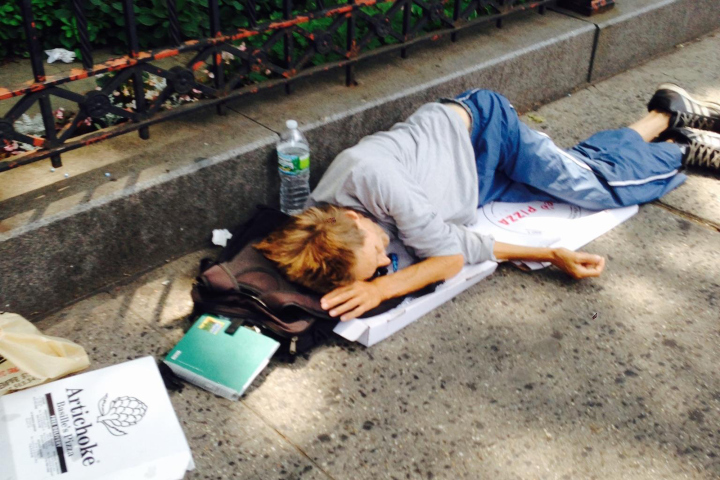 NYPD Officers Post Photos of Vagrants Online to Show Importance of Quality of Life Policing