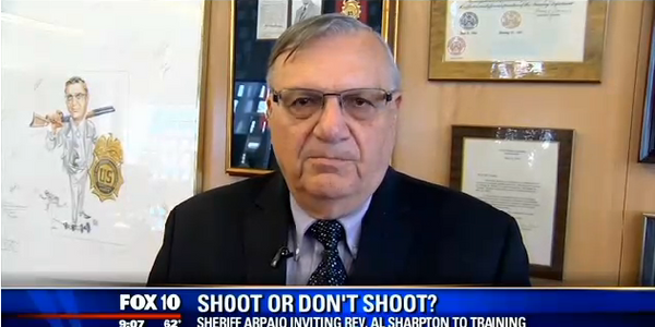 Video: Sheriff Arpaio Invites Sharpton to Undergo Use-of-Force Scenario