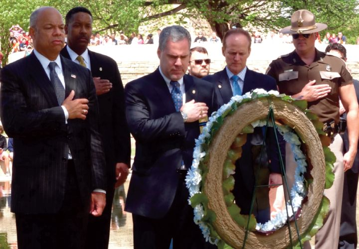 F.L.E.O.A. Honors Eight Fallen Heroes at OKC Remembrance Ceremony