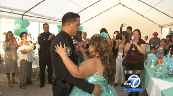 Video: Teen Battling Cancer Gets Dream Dance With Officer