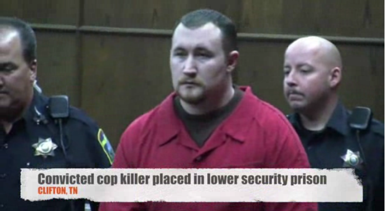 Video: Cop Killer Mistakenly Placed in Lower Security Prison
