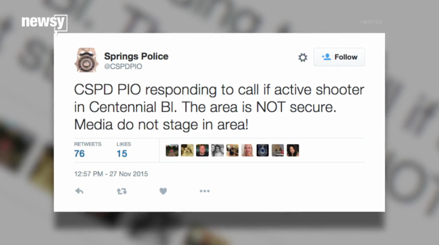 4 Officers Wounded in Colorado Planned Parenthood Shooting, Civilians Down