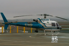 Video: CHP Helicopter Avoids Hitting Drone