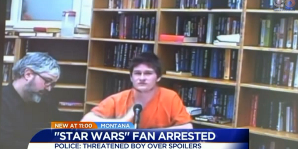 Video: Montana Man Jailed After Threatening to Shoot Boy Over 'Star Wars' Spoiler