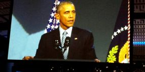 Obama Praises Officers, Pushes for Stricter Gun Laws and Sentencing Reform in Speech to IACP Crowd