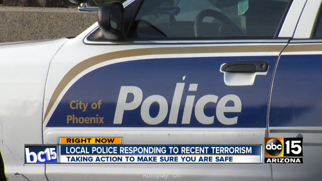 Video: Phoenix Police Get Training in Spotting Terror Threats Online