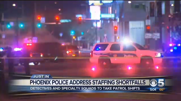Video: Officer Shortage Forces Phoenix Detectives Back to Patrol