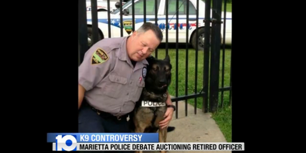 Video: Retired Ohio Officer's K-9 Set to Be Auctioned Off