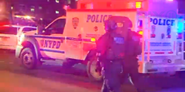 Video: 2 NYPD Officers Shot in Bronx Public Housing Complex