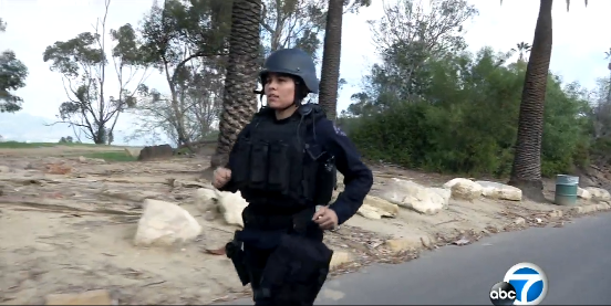Video: LAPD Officer Ran L.A. Marathon in Full Tactical Gear