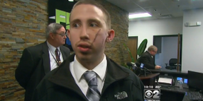 Video: Slashed Indiana Officer Protected Others at Off-Duty Job