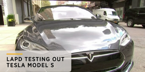 Video: LAPD Testing Tesla Electric Sedans