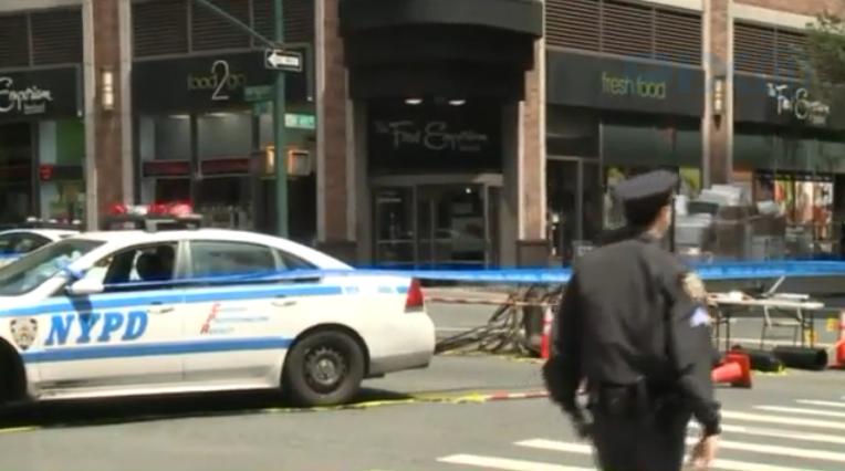 Video: Knife-Wielding Man Fatally Shot by Police in Midtown Manhattan