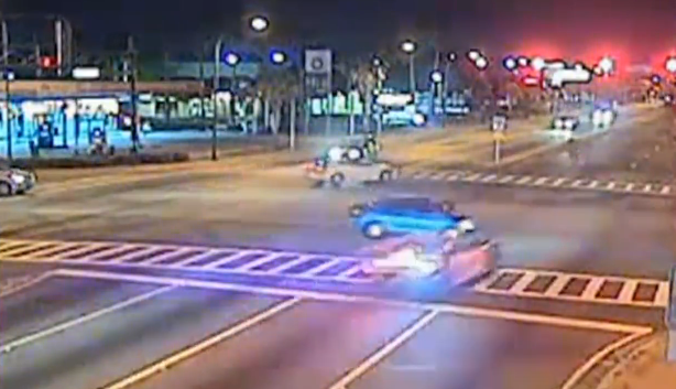 Video: Florida Officer Cited for On-Duty Crash During Stolen Car Pursuit