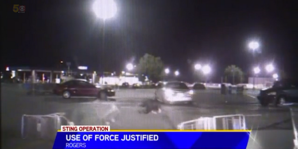 Video: Deputies Rammed by Suspect Justified In Opening Fire During Drug Sting