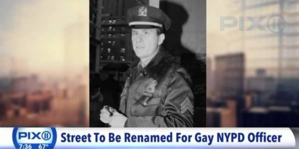 Video: NYC Names Intersection for Officer Who Founded LGBT Group