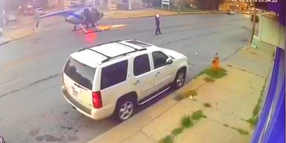 Video: Missouri Police Safely Land Helicopter in Intersection