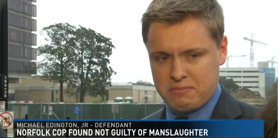 Video: VA Officer Found Not Guilty of Manslaughter in OIS