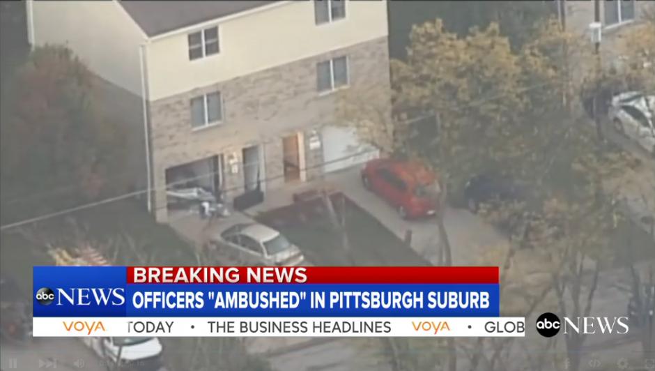Officer Killed in PA Ambush, Suspect Found Dead