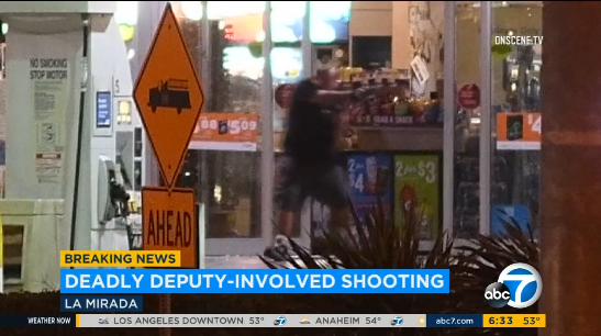 Video: CA Robbery Suspect Opens Fire on SWAT Team, Dies in Shootout