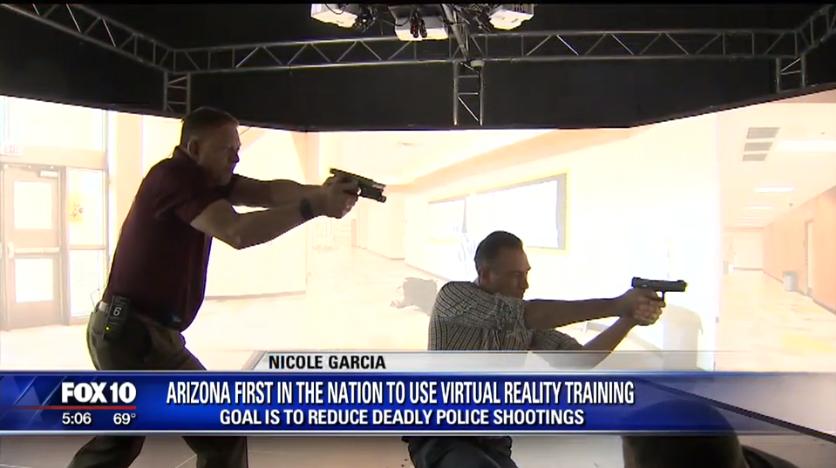 Video: Arizona DPS Buys $2 Million of High-Tech Training Simulators