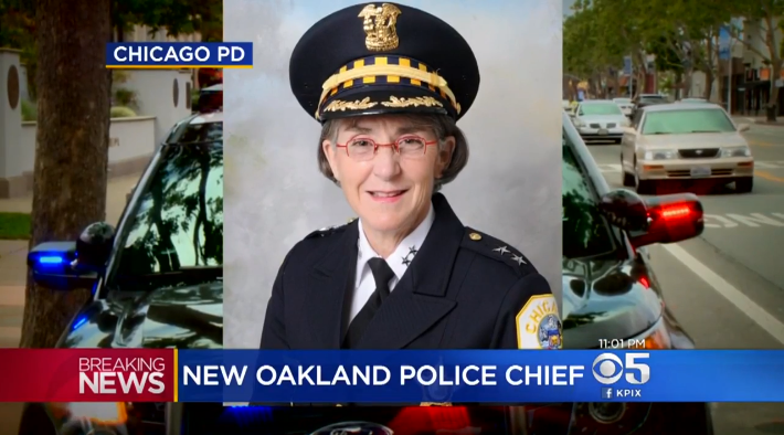 Video: Officer Overseeing Chicago Police Reforms Named Oakland Chief