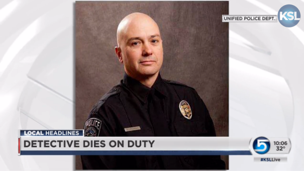 Video: Utah Officer Dies of Medical Condition on Duty