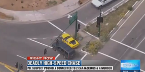 Video: Undercover AZ Officer Rams Murder Suspect to End High-Speed Chase