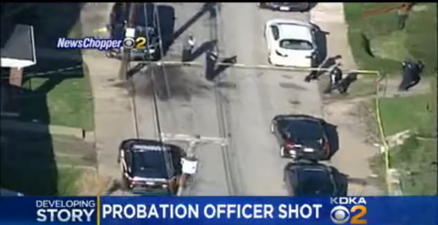 Video: PA Probation Officer Shot in the Head